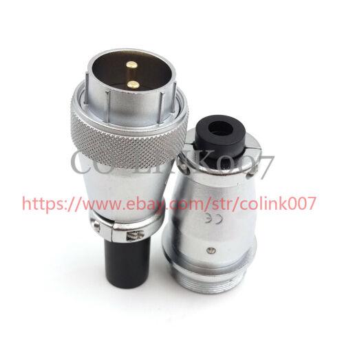 Câble 50 A pour câble aviation cloison connecteur 500VAC WS28 2Pin connecteur alimentation