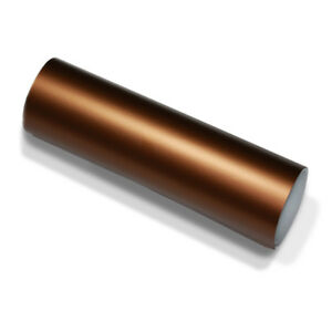 Film-auto-marron-chrome-mat-METALLIQUE-152-cm-x-15-Meter-auto-adhesif