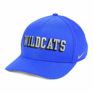 quality design 193a8 c8868 Image is loading Kentucky-Wildcats-Nike-NCAA-Local-Verbiage-Swoosh-Classic-