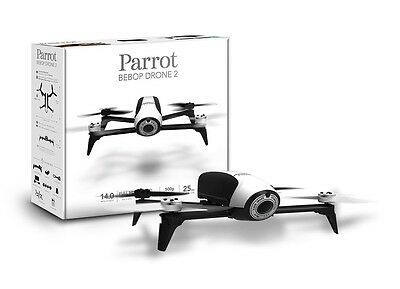 Parrot Bebop 2 white - NEW - NEW - iOS, Android Quadrocopter, Drone PA-BEBOP2-W