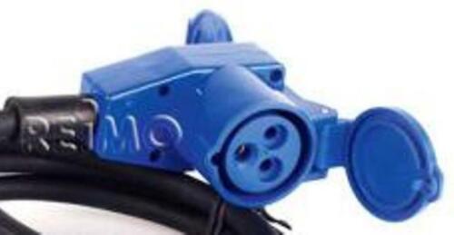 CEE conector//ángulo embrague con Schuko-embrague 230v 3 x 2,5 mm² 1,5m de cable