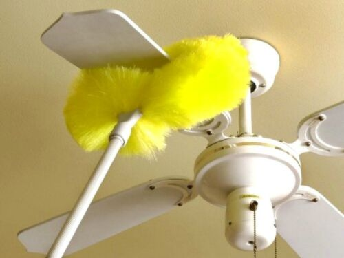Some Long Handled Dusters Are Made Specifically To Clean Ceiling Fan Blades
