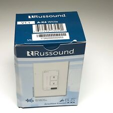 Russound A-K4 Amplified Keypad A-BUS systems ABUS AK4WH White 2000-534591