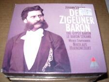 HARNONCOURT / LIPPERT / STRAUSS der zigeuner baron - 2 cd box set - SEALED / NEW