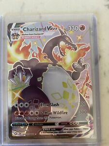 Shiny Charizard VMAX Shining Fates Pokemon Card SV107/122 Pokémon