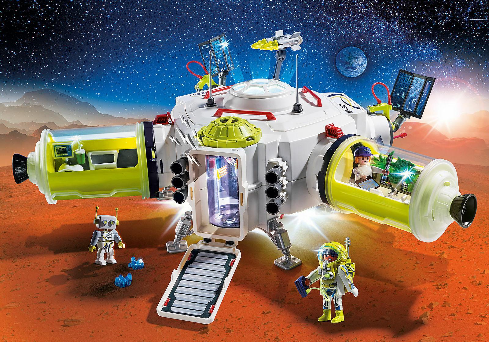 JugarMOBIL 9487 ESTACION DE MARTE - Mars Space Station - Station spatiale Mars