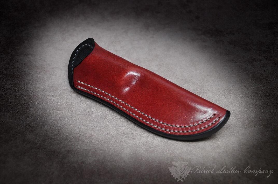 Bark River Bushcrafter 'The Intolerable' Custom Leather Bushcraft Sheath