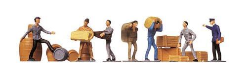 FALLER 151001 Spur H0 Transportarbeiter mit Ladegut #NEU in OVP#