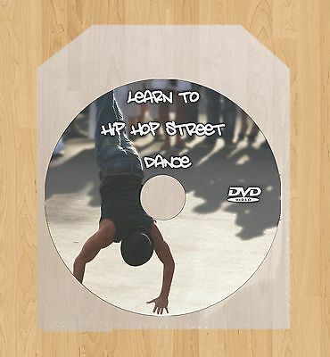 Learn how to Hip Hop Street Dance DVD Video Guide Dancing + Breakdancing lessons