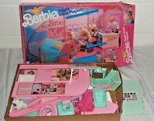 Vintage Mattel 1989 Barbie FLIGHT TIME PLAYSET MIB Airplane Airport Terminal