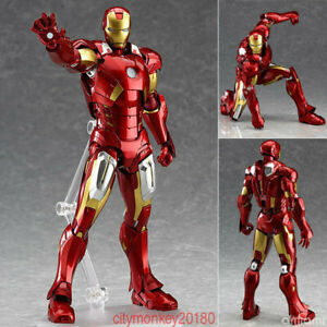 Marvel-The-Avengers-Iron-Man-Max-Factory-Figma-217-PVC-Figure-Statue-BOX-New