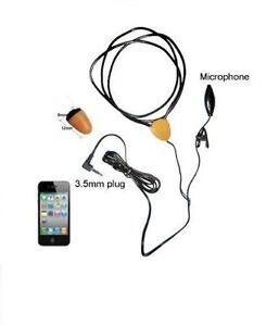 Super-unsichtbar-nano-Earpiece-kleine-Covert-Wireless-Induktiv-Schlaufe-Spy
