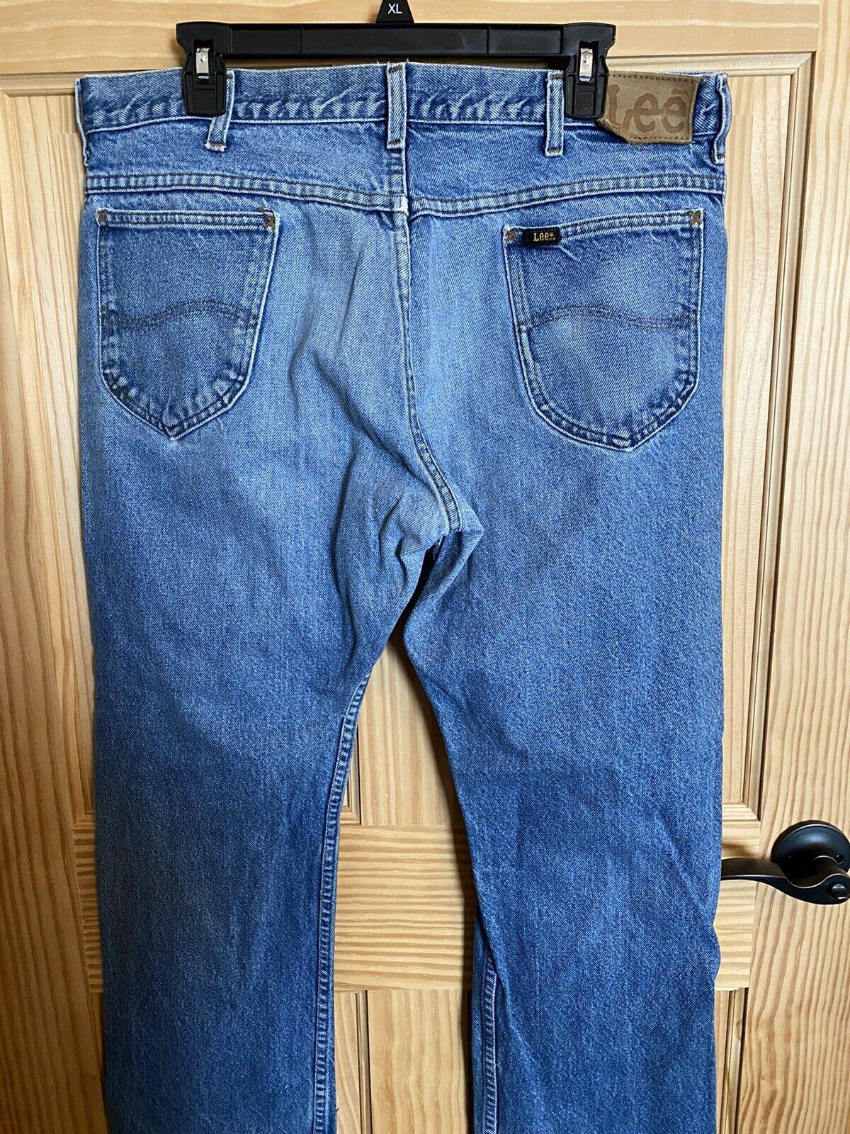 Men's Vintage 80's Lee Jeans  - image 4