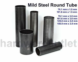 Details about Mild Steel ROUND TUBE 6 Sizes to Choose from & 12 Popular  Lengths