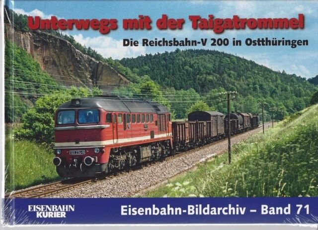 On the road with the Taiga Drum - The Reichsbahn-v200 in ostthüringen