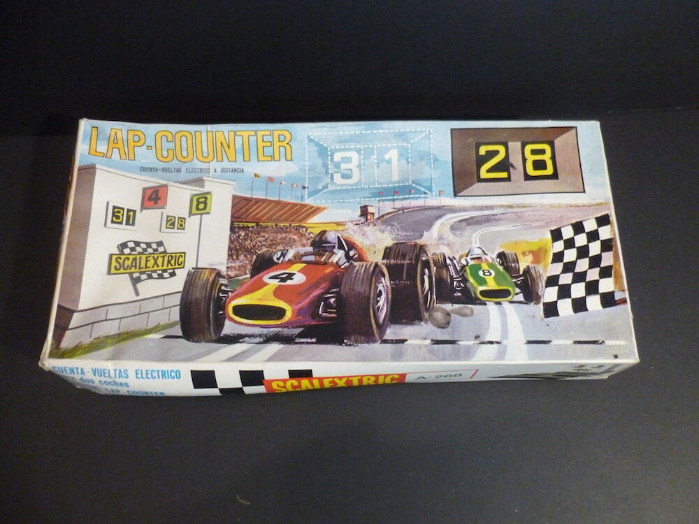 Scalextric A268 Lap Counter in great condition and boxed