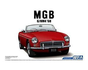 Aoshima 56851 The Model Car 101 Blmc G Hm4 Mg B Mk 2 1968 1 24 Scale Kit An