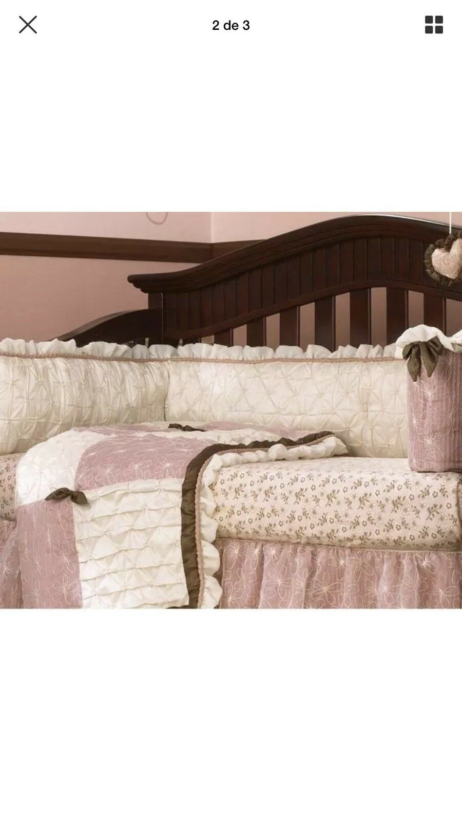 CoCaLo Daniella crib bedding set complete kit