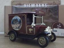 Lledo Stevelyn Model T Ford Van, Towan Island, Newquay, Cornwall - maroon