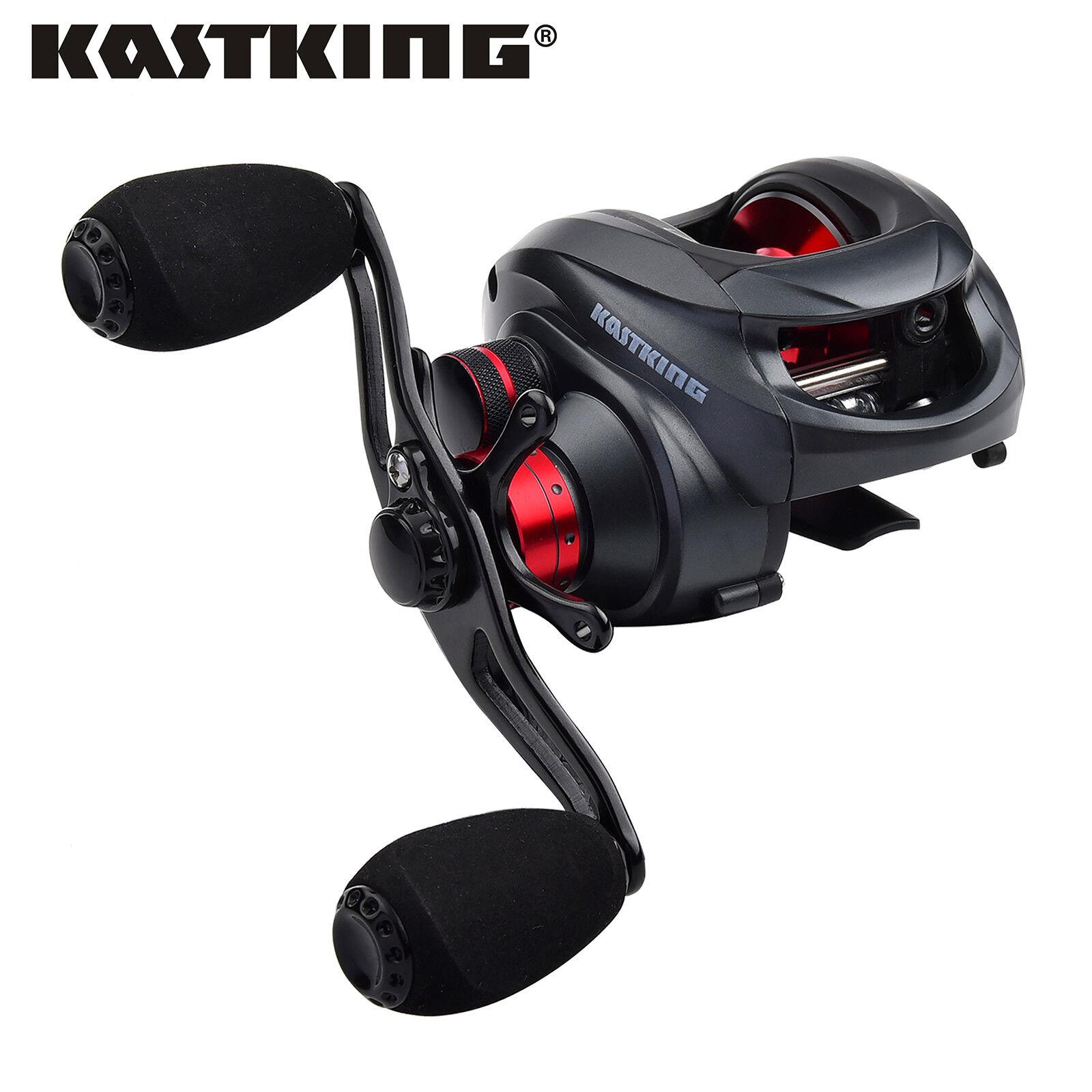 KastKing Spartacus Low Profile Baitcasting Reel  Carp Pike Fishing Baitcaster