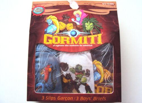 MUTANDINE SLIP GORMITI BAMBINO TGL 4-10 ANN