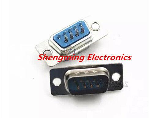 50PCS 10PCS DB9 RS232 Serial 9 Pin male Plug Connector