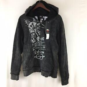 no fear full zip hoodie