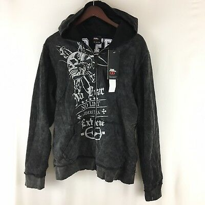 NWT NO FEAR Skull Extreme Riders