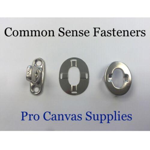 Stud Common Sense Kit Eyelet and Washer 10 sets