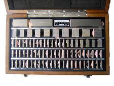 Shars 81 Pc Grade B Square Steel Gage Block Set With Usa Nist Cert New L