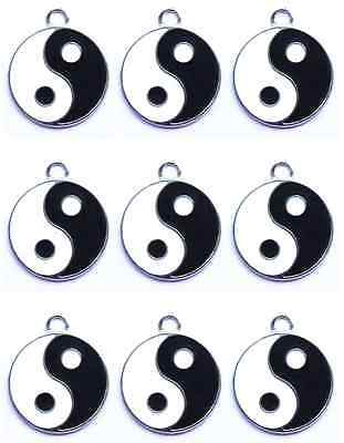 New 10 Pcs Tai Chi Metal Charms Jewelry Making pendants Party Gifts P890