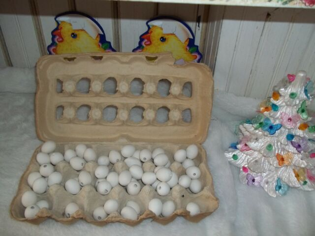 50 Jelly Bean Easter Eggs Ceramic Bisque Ready to Paint / Finish DYE  DECORATE