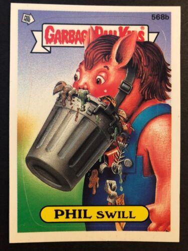 Garbage Pail Kids GPK Original Series 14 #568b PHIL Swill NrMint-Mint