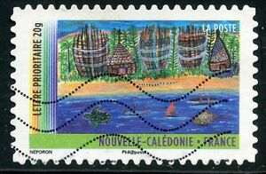 TIMBRE-FRANCE-AUTOADHESIF-OBLITERE-N-638-ANNEE-DES-OUTRE-MER-NOUVELLE-CALEDONIE