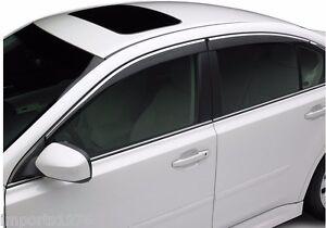 Image Is Loading 2010 2014 Subaru Legacy Side Window Deflectors Vent