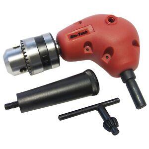 3-8-034-Right-Angle-Drill-Attachment-90-Degree-Keyless-Handle-Adaptor-Corner-Chuck