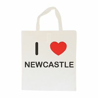 I Love Newcastle - Cotton Bag | Size choice Tote, Shopper or Sling