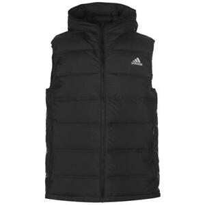 Details about ADIDAS HELIONIC MENS DOWN FILLED BODY WARMER GILET – BLACK – SMALL – BNWT