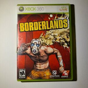 Borderlands Microsoft Xbox 360 2009 M-Mature Complete Tested/Working