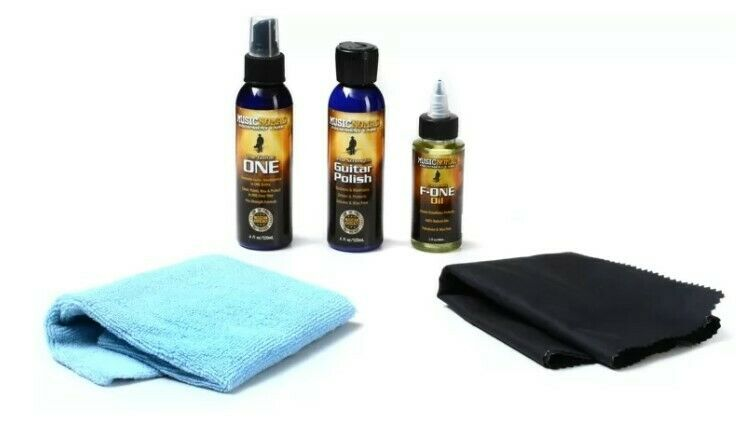 Music Nomad Premium Guitar Care Cleaning Maintenance Kit MN108