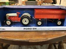 1//64 Ertl Ford NAA Golden Jubilee with flarebox wagon