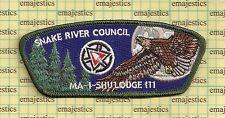 BSA SNAKE RIVER COUNCIL 111 MA I SHU 363 OA 100TH 2015 CENTENNNIAL MOON CSP