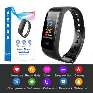 02cc14dfbbd7 Detalles de CK17S Smart Bracelet Pulsera SmartWatch Frecuencia cardíaca  Presión arterial / O