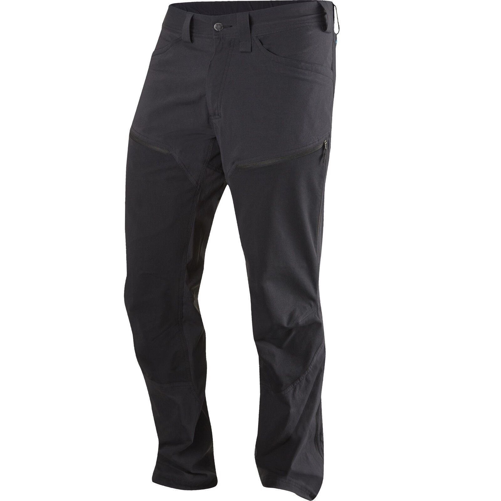 Haglöfs Medio Flex Pantalón Corto Talla Senderismo Pantalones para Hombres Negro