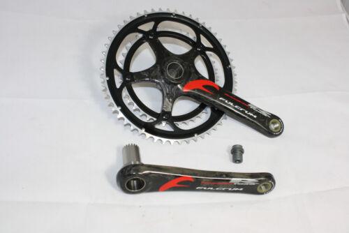 fois vélo de course pédalier 2 39//53 Crank FULCRUM torq r carbone manivelle 175mm