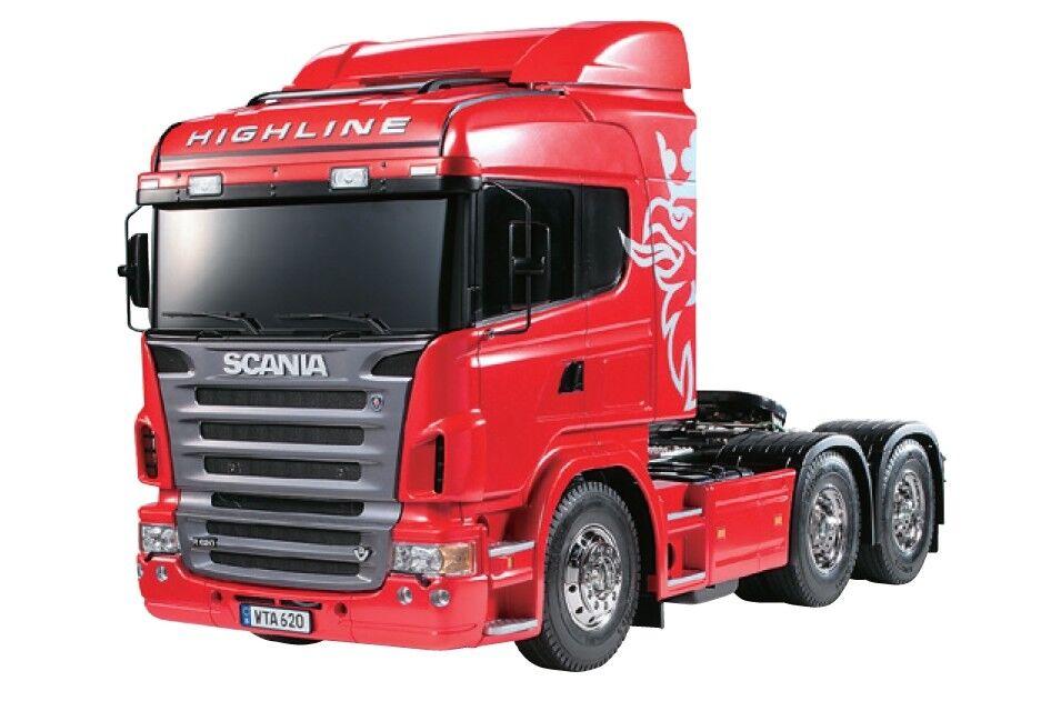 Tamiya  Scania R620 - 6x4 Highline Semi Camión Kit TAM56323