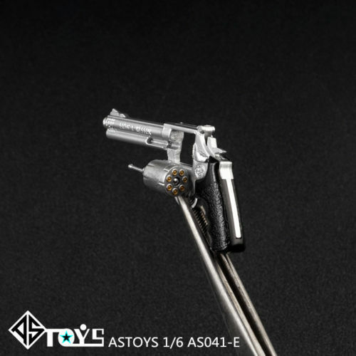 ASTOYS Revolver Model 1//6 Smith/&wession Weapon Gun Accessory AS041 F 12/'/' Figure