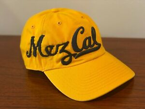 Hand-embroidered-034-MEZCAL-034-Berkeley-baseball-hat