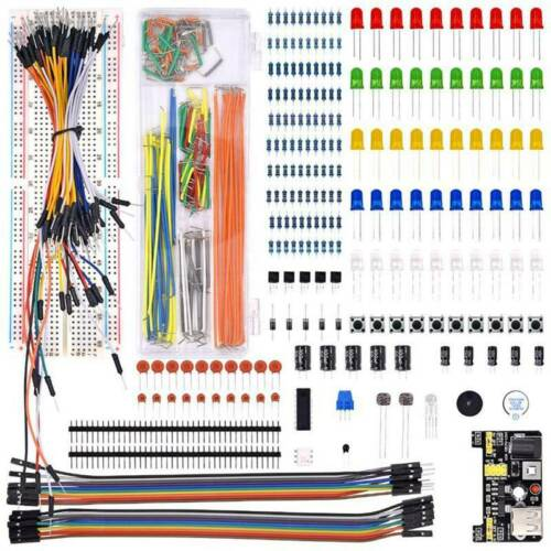 830 Breadboard Cable Resistor Electronics Component Starter Kit Arduino TyZvP