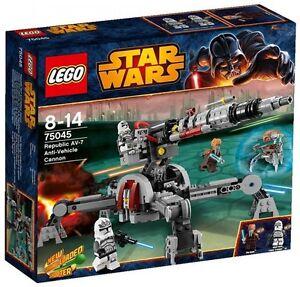 ?? LEGO STAR WARS 75045 / Republic AV-7 Anti-Vehicle Cannon / NEUF - NEW ??